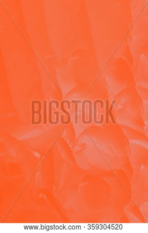 Orange Lush Lava Gradient Patchy Abstract Background