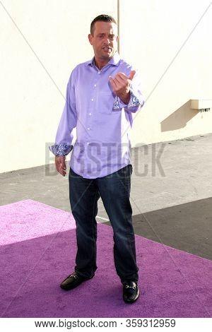 LOS ANGELES - MAY 19:  Lenny Venito at the Disney Media Networks International Upfronts at the Walt Disney Studios on May 19, 2012 in Burbank, CA