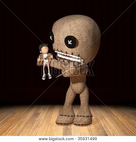 Voodoo Doll Gets Even