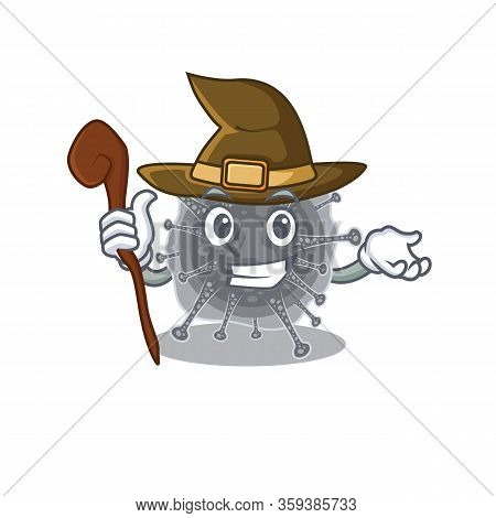 Articulavirales Sneaky And Tricky Witch Cartoon Character
