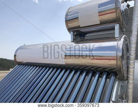 Brand New Water Tank With Solar Heating Elements