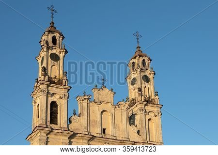 Church Of The Ascension Or Church Of Missionaries In Vilnius, Lithuania
