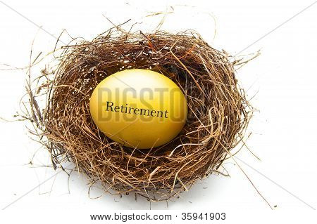 Golden Retirement Egg