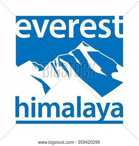 Mountain Everest, Climbing, Trekking, Hiking, Mountaineering And Other Extreme Activities Template,