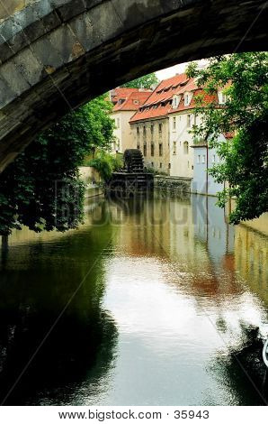 Water Wheel, Prague