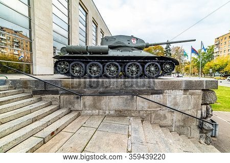 Central Museum Of The Armed Forces Of The Russian Federation-t-34-85 -- Military Designation Of The