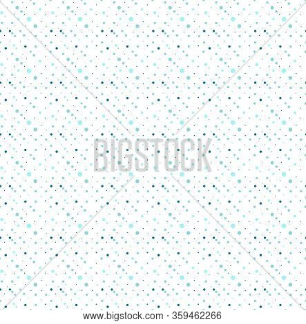 Seamless Abstract Circle Blue Pattern For Business Template, Linens, Home Textiles, Clothes. Busines
