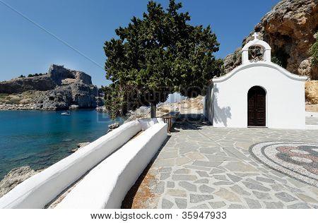 St Paul's Church, Lindos, Rhodes