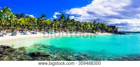 Perfect tropical getaway - stunning Mauritius island with great beaches and resorts