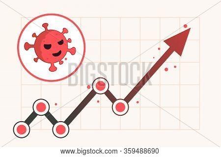 Virus Hits Market. Shares Fall Down. Markets Plunging. Economic Fallout. 2019 Novel Coronavirus Outb