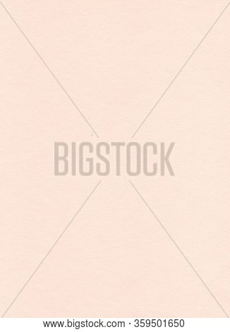 Elegant Beige Paper Background. Sandy And Peachy Colored Pastel Paper. Warm Modern Textured Sheet Of