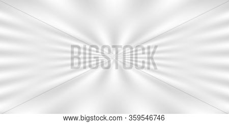 White Grey Zoom Effect For Background, Blurred Zoom Effect Gradient Soft Gray And White Color