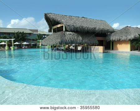 Touristic Resort At The Dominican Republic