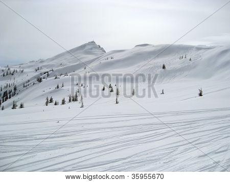 Wagrain Winter Scenery