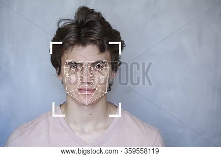 Face Biometrics, The Concept Of A New Technology Of Face Recognition On Polygonal Grid Is Constructe