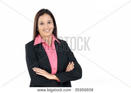Arms Crossed Business Woman