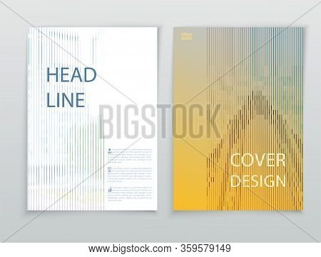 Yellow Business Template. Flayer Or Advertising Abstract Background For Delivery, Energy Business. F