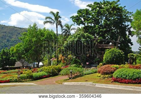 Cavite, Ph - Oct 19: Tagaytay Highlands Gardens On October 19, 2015 In Tagaytay, Cavite, Philippines