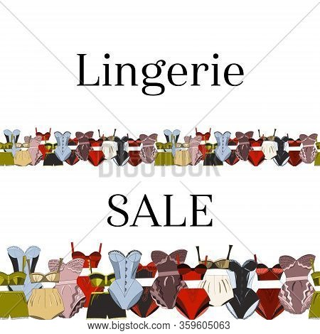Seamless Border Sale Female Lingerie Collection