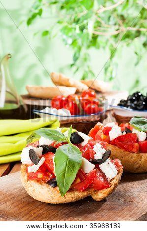 Frisella Con Pomodoro - Frisella Tomato