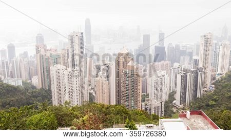 Viewpoints Of Victoria Peak Highest Can See View Of The Victoria Habour