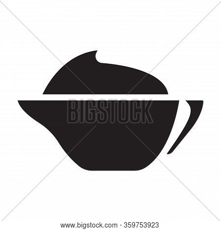 Mustard Vector Icon.black Vector Icon Isolated On White Background Mustard.