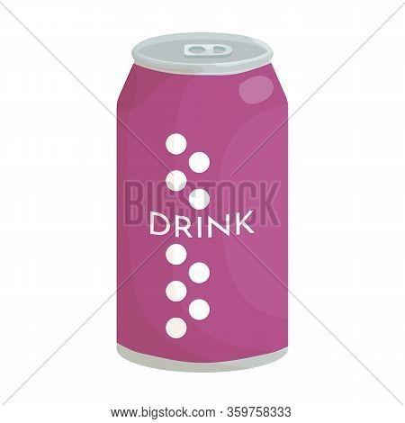 Soda Vector Icon.cartoon Vector Icon Isolated On White Background Soda.