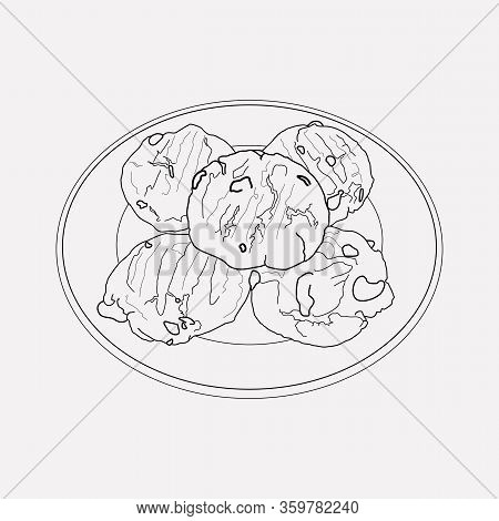 Nevada Icon Line Element. Illustration Of Nevada Icon Line Isolated On Clean Background For Your Web