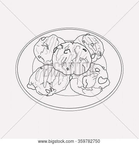 Nevada Icon Line Element. Vector Illustration Of Nevada Icon Line Isolated On Clean Background For Y