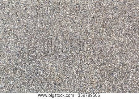 Sand Texture Or Sand Background. Sand Wall For Interior Or Exterior Decoration.