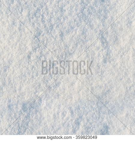 Seamless Snow Texture Pattern