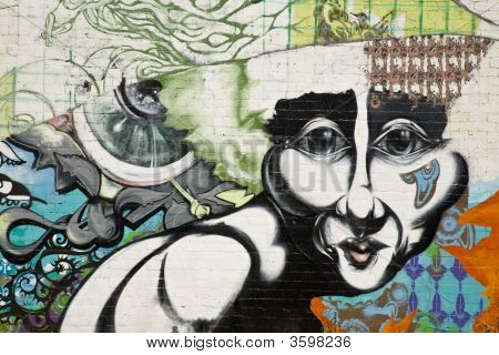 Urban Grafitti Art In Phoenix Arizona