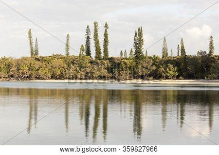 The Coastline Of Ile Des Pins