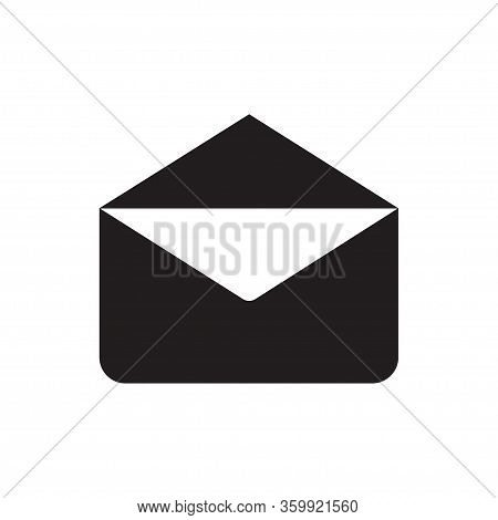 Email Icon Isolated On White Background. Email Icon In Trendy Design Style For Web Site And Mobile A