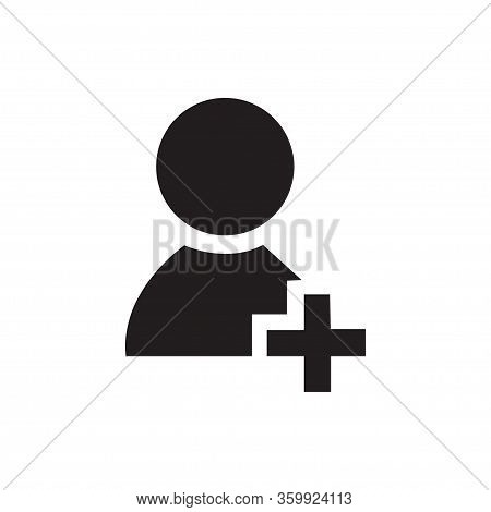 User Icon Isolated On White Background. User Icon In Trendy Design Style For Web Site And Mobile App