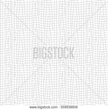 Shift And Error Geometric Net Seamless Pattern