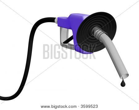 Oil Drop On Nozzle