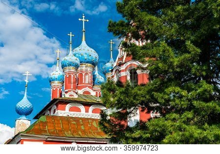 Church Of Prince Dmitry On The Blood In Uglich, The Golden Ring Of Russia