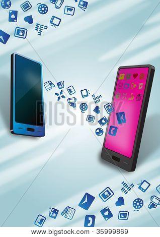 Fast Smartphones Mobile Data Transfer