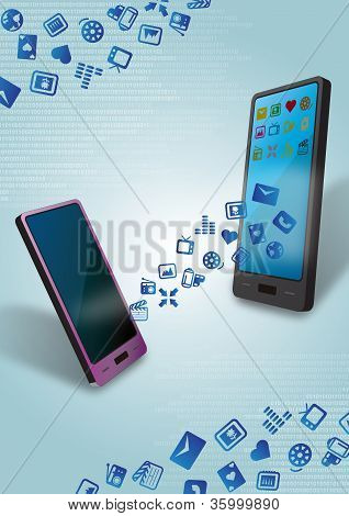 Mobile Content and Data Transfer Over the Air