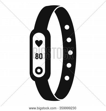 Running Bracelet Icon. Simple Illustration Of Running Bracelet Vector Icon For Web Design Isolated O