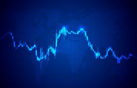 Finance Trader Graph Information, Buy And Sale Broker.