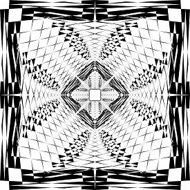 Abstract Arabesque Fence Developement Project Design Black On Transparent Seamless Plaid Background