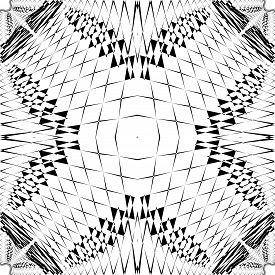 Abstract Arabesque Fence Developement Project Schiels Design Black On Transparent Seamless Plaid Bac