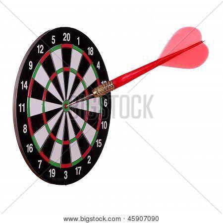 Big Arrow On Dart Board