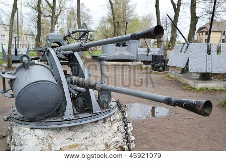 Military Weapons In Schlusselburg