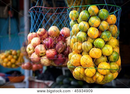 Oranges At Indian Market