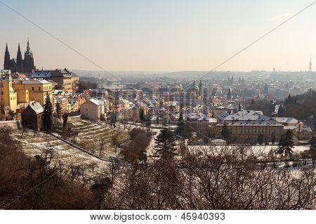 Prague Castle In The Czech Republic 2