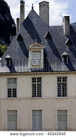 Chateau de Sassenage - In Grenoble France.