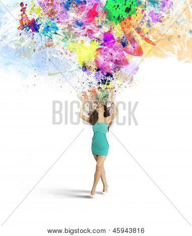 Mode en creativiteit explosie